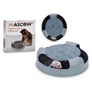 Brinquedo para gatos Cinzento (25 x 6,5 x 25 cm)