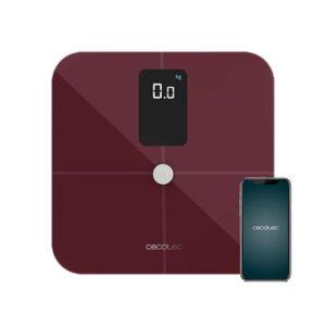 Balança digital para casa de banho Cecotec Surface Precision 10400 Smart Healthy Vision Grená