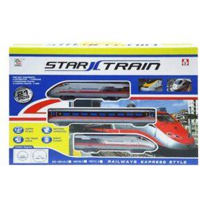 Tren com Circuito Star (21 pcs)