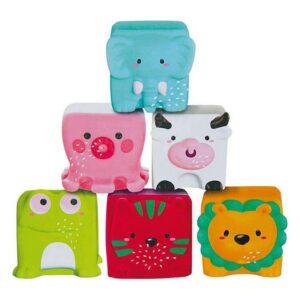 Blocos Suaves de Aprendizagem Bath Toys (6 pcs)