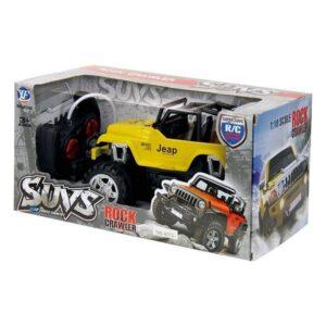Carro Rádio Controlo Suvs Rock Crawler 1:18 (25,5 x 18 x 17 cm)