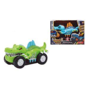 Carro Dino Warrior Tech (25,5 x 18 x 17 cm)