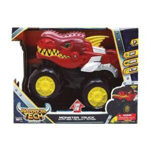 Carro Monster Warrior Tech (23 x 18 x 10 cm)
