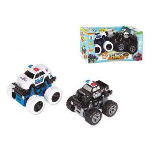 Playset de Veículos Police 4x4