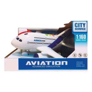 Avião City Service 1:160