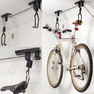 ProPlus elevador para bicicletas montado no tecto 730915 - PORTES GRÁTIS