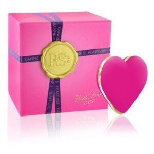Vibrador Coração Icons Rosa Francesa Rianne S E26355