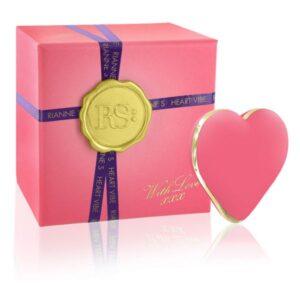 Vibrador Coração Icons Rosa Coral Rianne S E26356