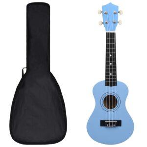 Conjunto ukulele soprano infantil com saco 21