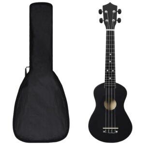 Conjunto ukulele soprano infantil com saco 23