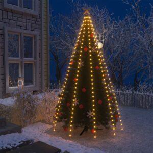 Cordão de luzes para árvore de Natal 300 luzes LED IP44 300 cm - PORTES GRÁTIS