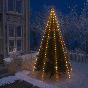 Cordão de luzes para árvore de Natal 400 luzes LED IP44 400 cm - PORTES GRÁTIS