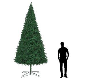 Árvore de natal artificial 400 cm verde  - PORTES GRÁTIS