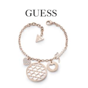 Guess® Pulseira UBB85072-S | Rose Gold