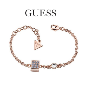 Guess® Pulseira UBB83038-S | Rose Gold