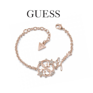 Guess® Pulseira UBB28030-S | Rose Gold