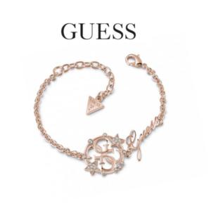 Guess® Pulseira UBB28030-S | Rose Gold