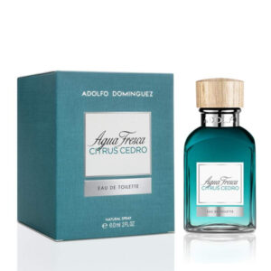 Perfume Homem Agua Fresca Citrus Cedro Adolfo Dominguez EDT 60 ml