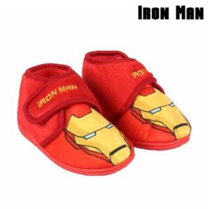 Pantufas Para Crianças Ironman 73323 Vermelho 24