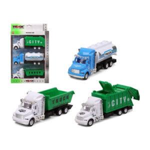 Conjunto veículos City Truck 119282 (3 uds)