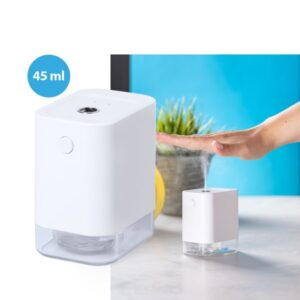 Distribuidor de Álcool 146698 Com sensor de movimento Branco