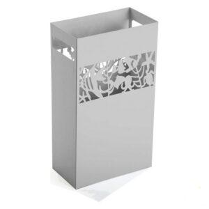 Suporte para guarda-chuvas Metal Ferro (15 x 49 x 28 cm) Branco