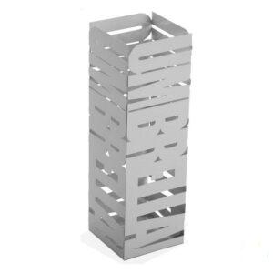 Suporte para guarda-chuvas Metal Ferro (15,5 x 49 x 15,5 cm) Branco