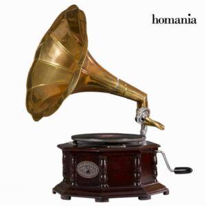 gramofone Octogonal - Old Style Coleção by Homania