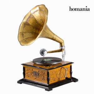 gramofone Quadrado - Old Style Coleção by Homania