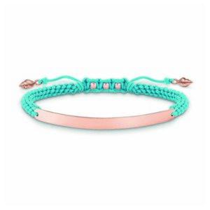 Bracelete feminino Thomas Sabo LBA0062-597-1 12-19 cm