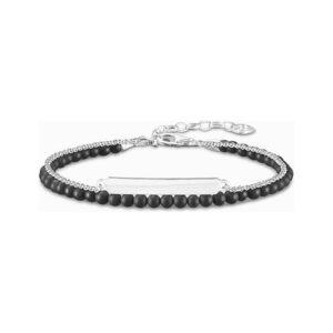 Bracelete feminino Thomas Sabo LBA0117-023-11-L19V Preto