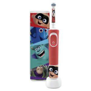 Escova de Dentes Elétrica Oral-B Pack Pixar Estojo