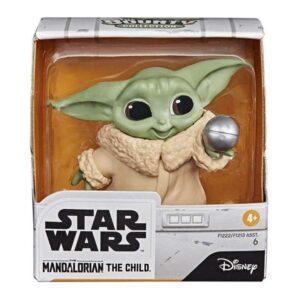 Figuras de Ação Star Wars Mandalorian Baby Yoda Hasbro (5,5 cm)