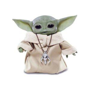 Figuras de Ação Star Wars Mandalorian Baby Yoda Hasbro (25 cm)
