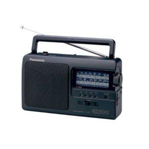 Rádio Portátil Panasonic RF-3500E9-K Preto