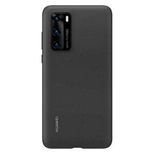 Capa para Telemóvel Huawei P40 Huawei Silicone Preto