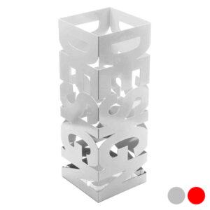 Suporte para guarda-chuvas Design Metal (19 x 52 x 19 cm) Branco