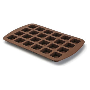 Molde para o Forno Brownies Silicone (12 x 3,6 x 19 cm) 24 uds