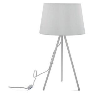 Lâmpada de Mesa Metal (29 x 56 x 29 cm) Branco
