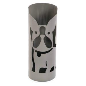 Suporte para guarda-chuvas Dog Metal (19 x 49 x 19 cm) Cinzento