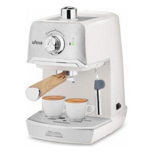Máquina de Café Expresso Manual UFESA C7238 1,2 L 20 bar 850 W Creme