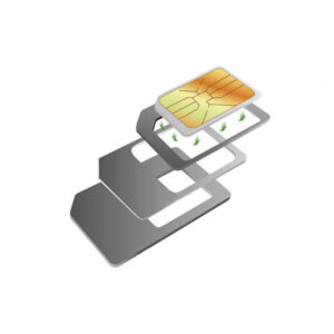 Conjunto de Adaptadores para Cartões SIM KSIX (3 pcs)