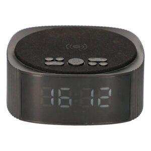 Rádio Despertador com Carregador sem Fios KSIX Alarm Clock 3 Bluetooth 10W Preto