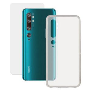 Protetor de vidro temperado para o telemóvel + Estojo para Telemóvel Xiaomi Mi 10 Contact