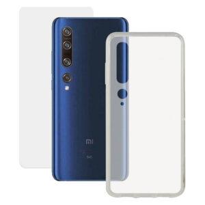 Protetor de vidro temperado para o telemóvel + Estojo para Telemóvel Xiaomi Mi10 Pro Contact