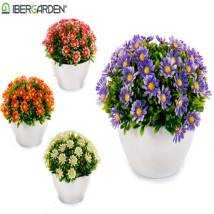 Planta Decorativa (14 x 12 x 14 cm)