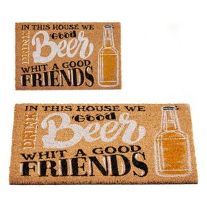 Tapete Beer & Friends Coco (40 x 2 x 60 cm)