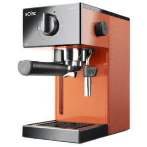 Máquina de Café Expresso Manual Solac CE4504 1,5 L 20 bar 1050W Laranja