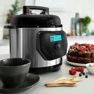 Robot de Cozinha Cecotec H Deluxe 6 L LCD Aço inoxidável