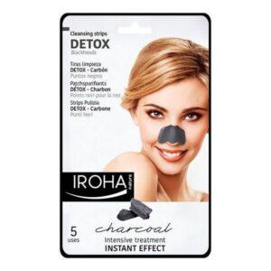 Limpeza Facial Detox Charcoal Black Iroha 5 Unidades